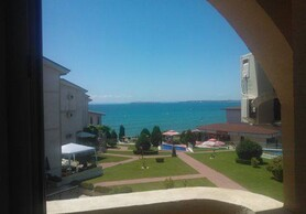 Large apartment at the sea front in Saint Vlas!