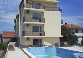 For sale fully finished apartments in a small, cosy complex, 7 kms away from the sea.