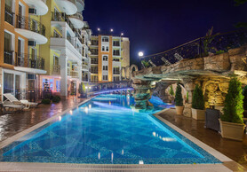 sStylishly furnished two-bedroom apartment in one of the most elegant and beautiful complexes